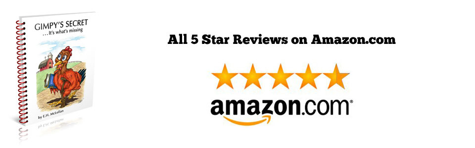 All 5 Star Reviews on Amazon