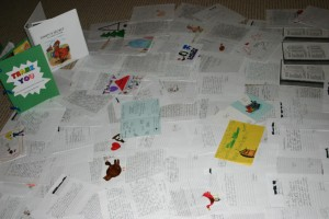A sampling of letters from Gimpy's smallest fans